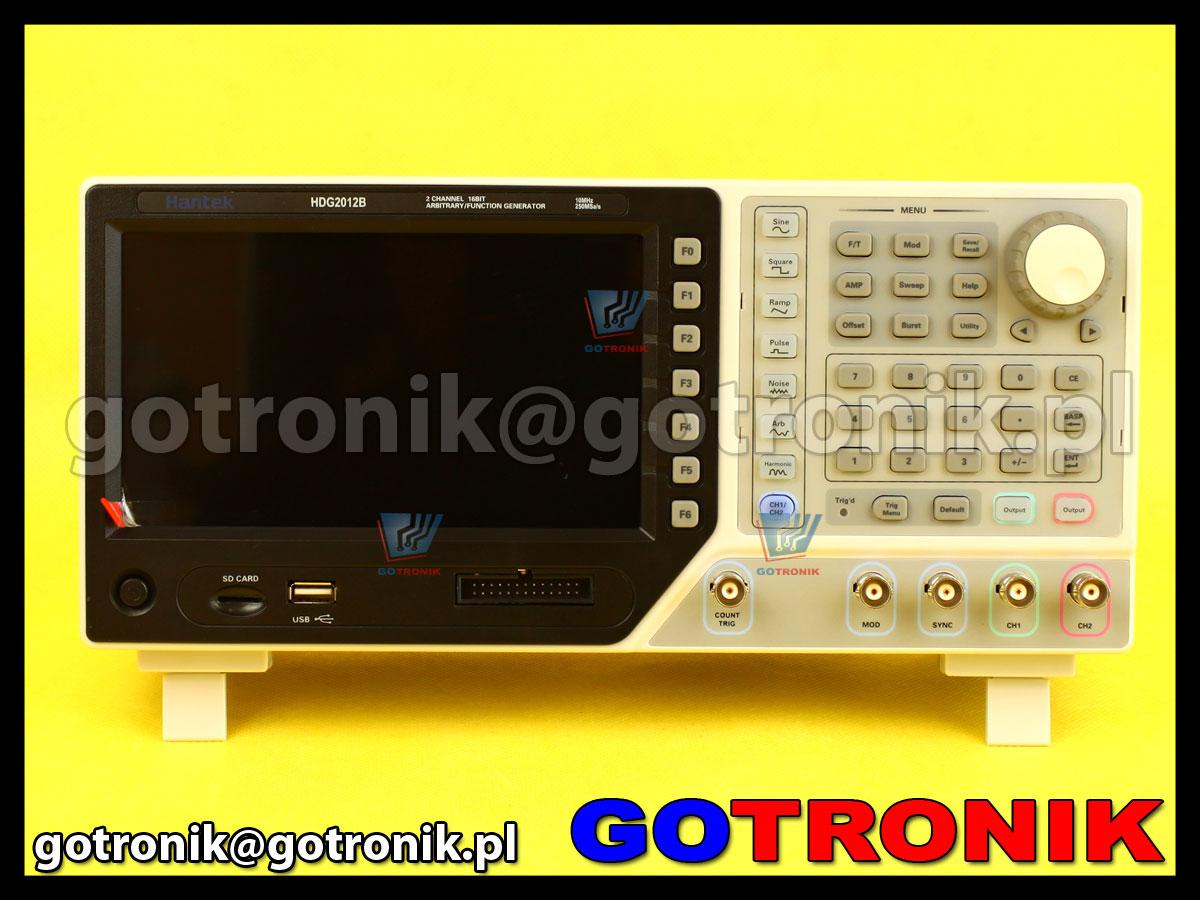 HDG2022B Hantek 20MHZ generator funkcyjny DDS AM, FM, PM, ASK, FSK, PSK, PWM