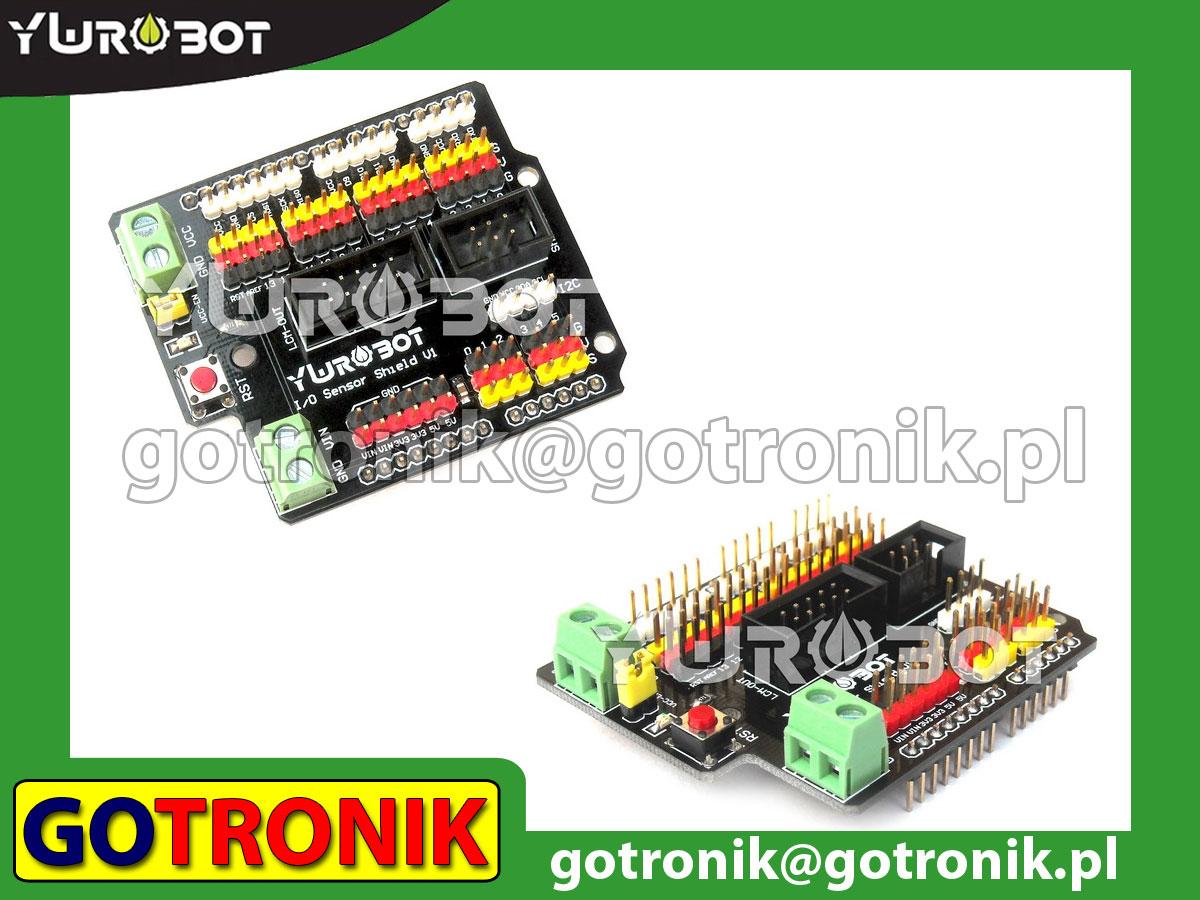 I/O sensor shield dla Arduino UNO R3