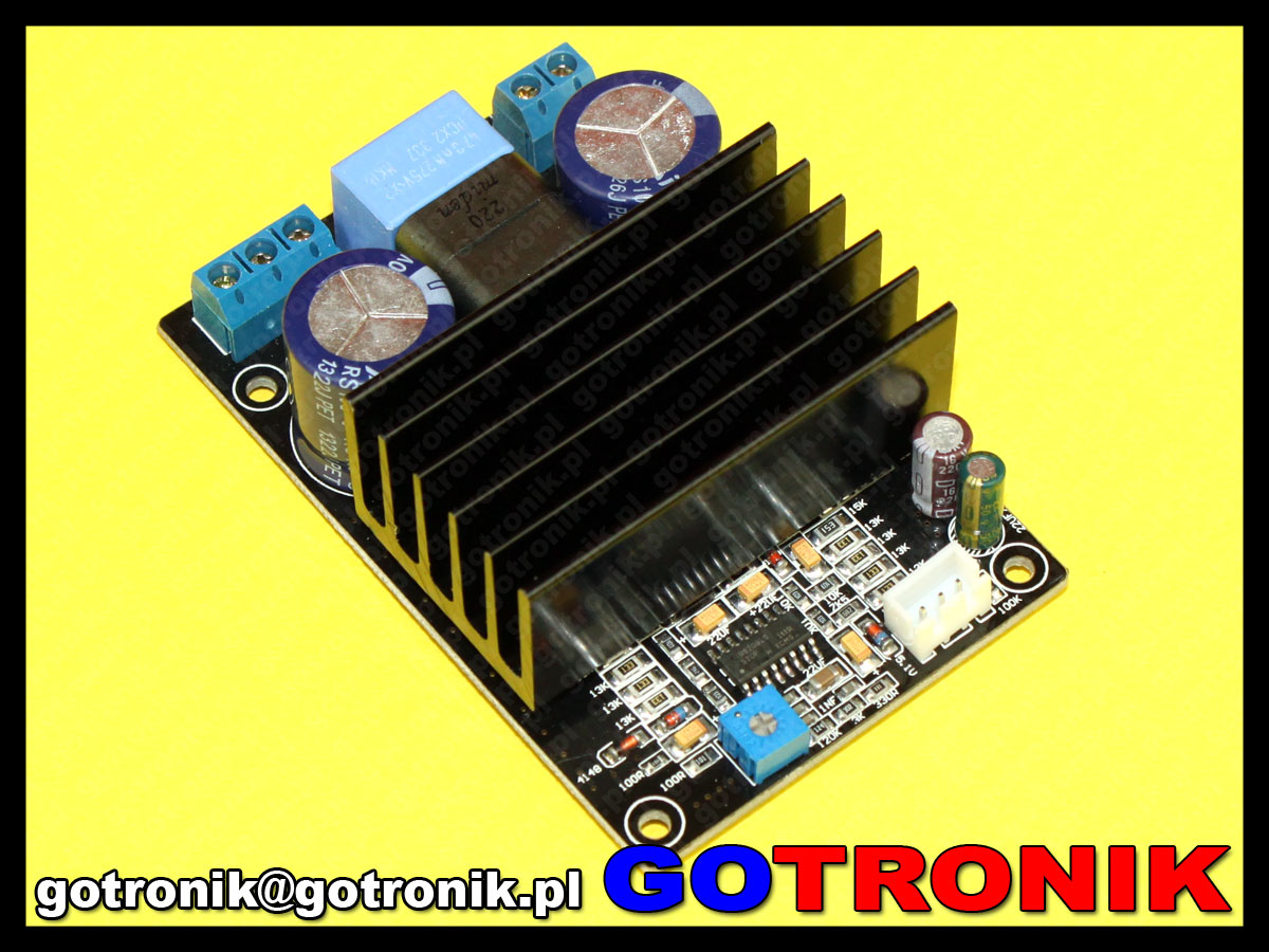 Moduł wzmacniacza mocy IRS2092 200W Class-D Mono Amplifier Board