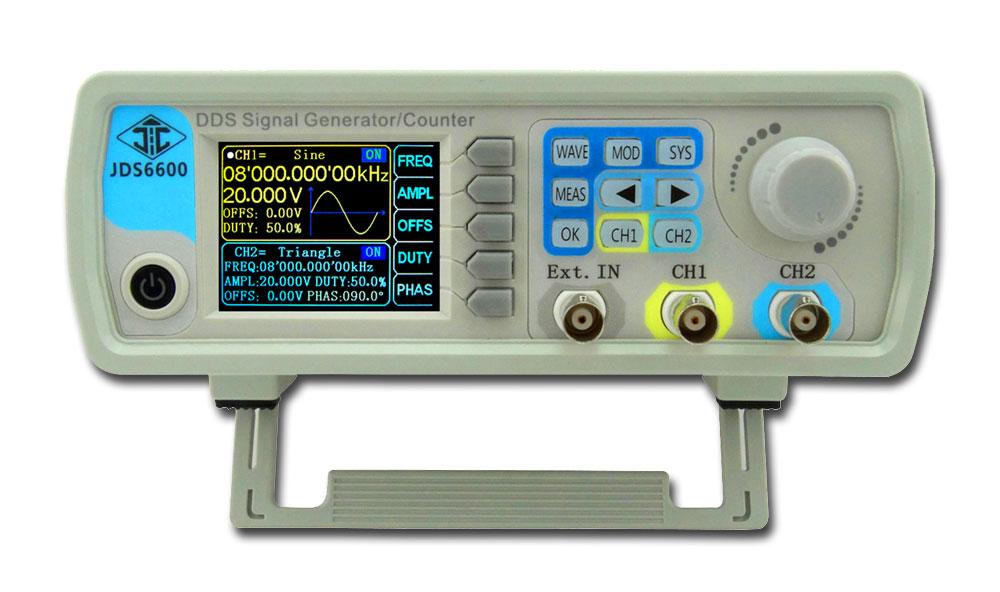 generator funkcyjny JDS6600 DDS