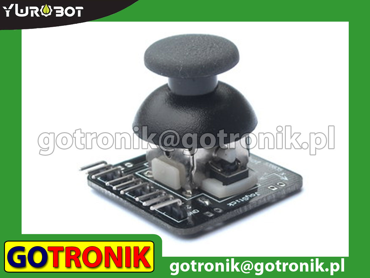 Joystick - dżojstik analogowy do Arduino, MCU, ARM, AVR, PIC, Raspberry Pi