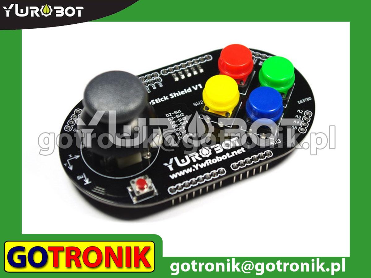 Joystick Shield - dżojstik dla Arduino UNO R3
