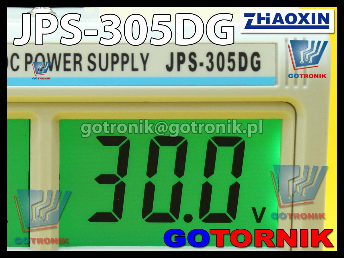 JPS-305DG Zhaoxin zasilacz laboratoryjny