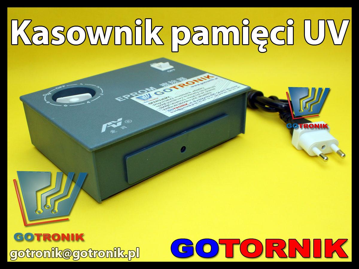 Kasowarka - kasownik UV do pamięci EPROM z okienkiem