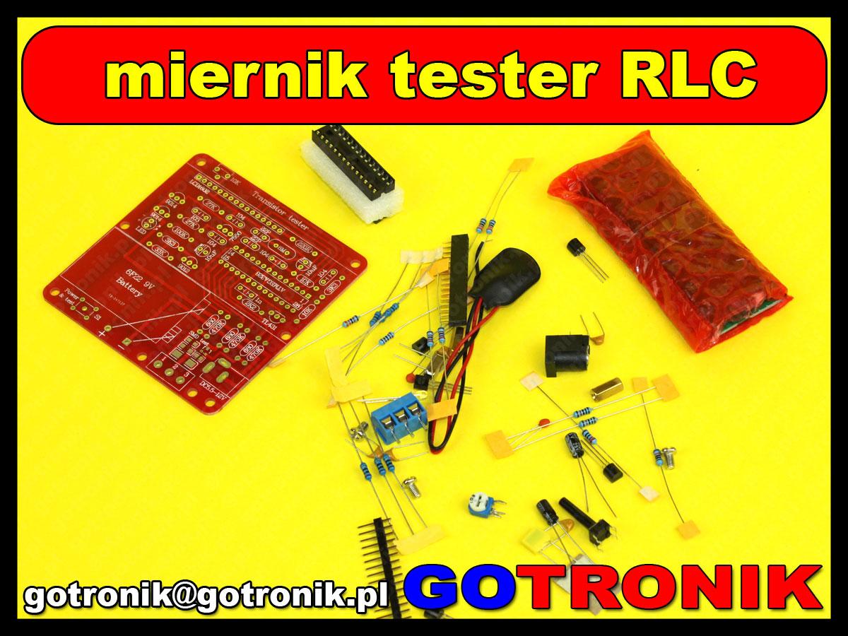 Tester miernik elementów RLC i półprzedowników