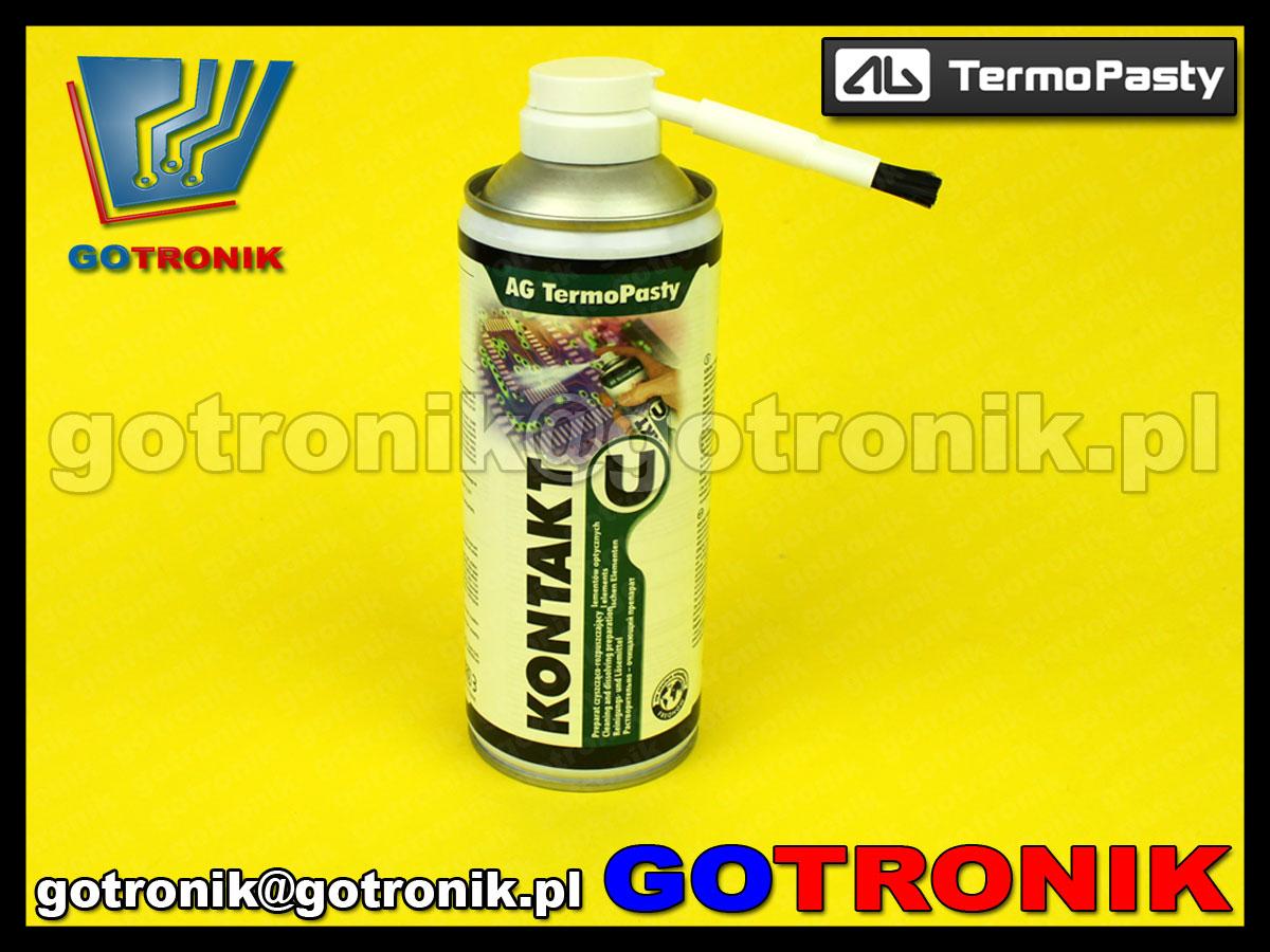 Kontakt IPA Plus 600ml aerozol ART.AGT-202 alkohol izopropylowy