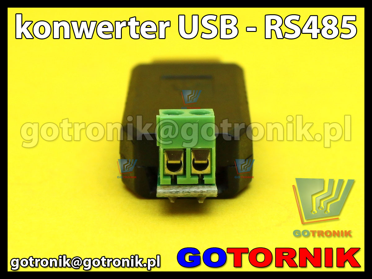 Konwerter USB na RS485 USB-485 adapter Win7 XP