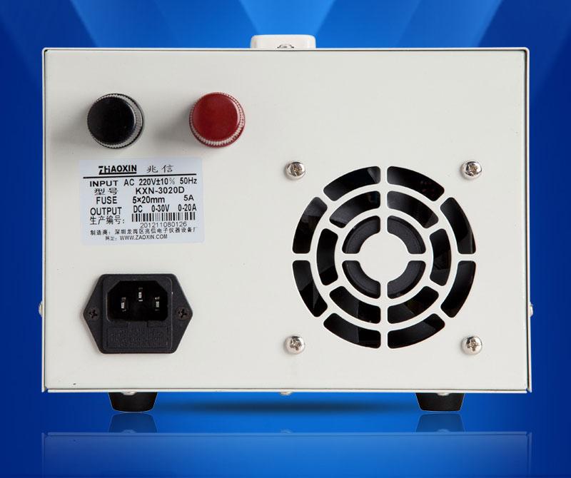 KXN-3030D zasilacz laboratoryjny Zhaoxin Zaoxin 30V 30A warsztatowy serwisowy labolatoryjny regulowane napięcie DC