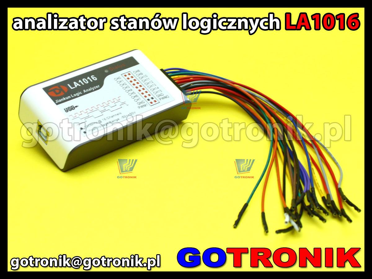LA1016 - analizator stanów logicznych 16 kanałowy