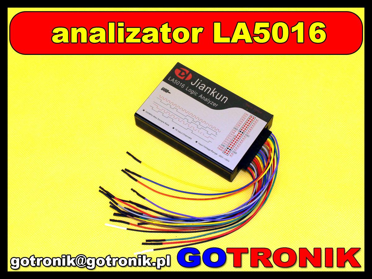 LA5016 - analizator stanów logicznych 16 kanałowy