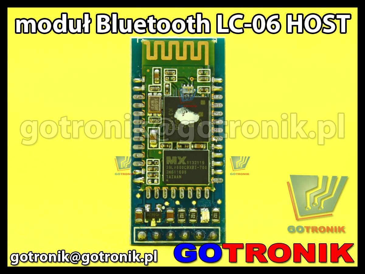 Bluetooth LC-06 Host master moduł transmisyjny HC-06
