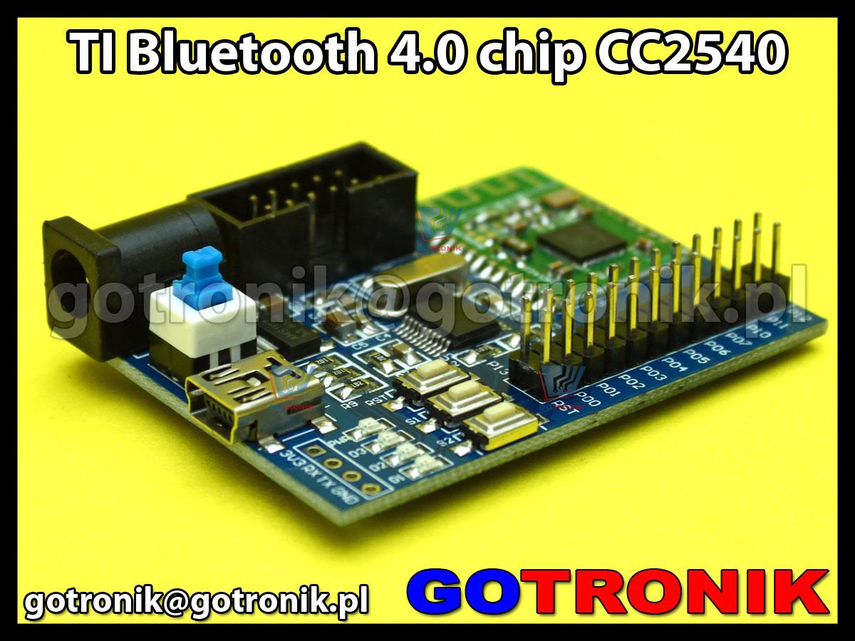 Moduł rozwojowy z TI Bluetooth 4.0 chip CC2540
