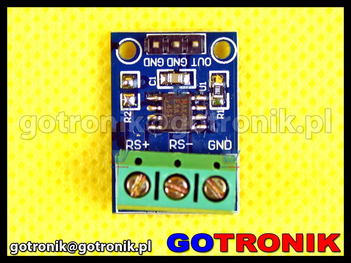 Moduł MAX471 2-kierunkowy pomiar przepływu prądu