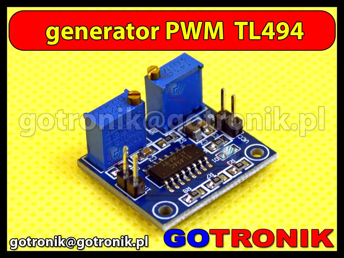 Moduł generatora PWM TL494