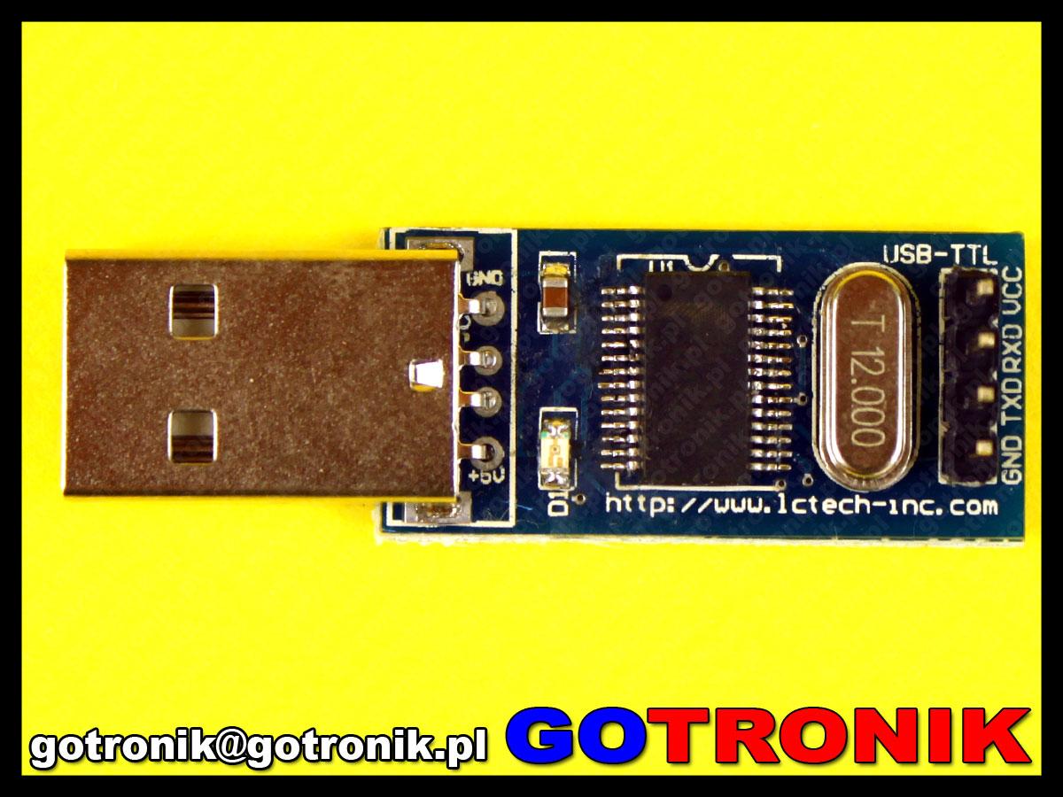 16 kanałowy sterownik serwo silników + interfejs USB