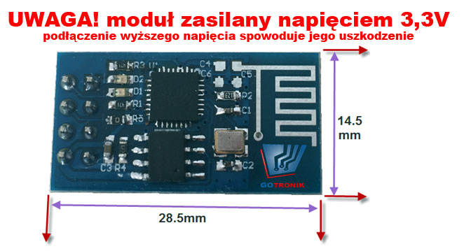 Moduł ESP8266 Serial to WIFI