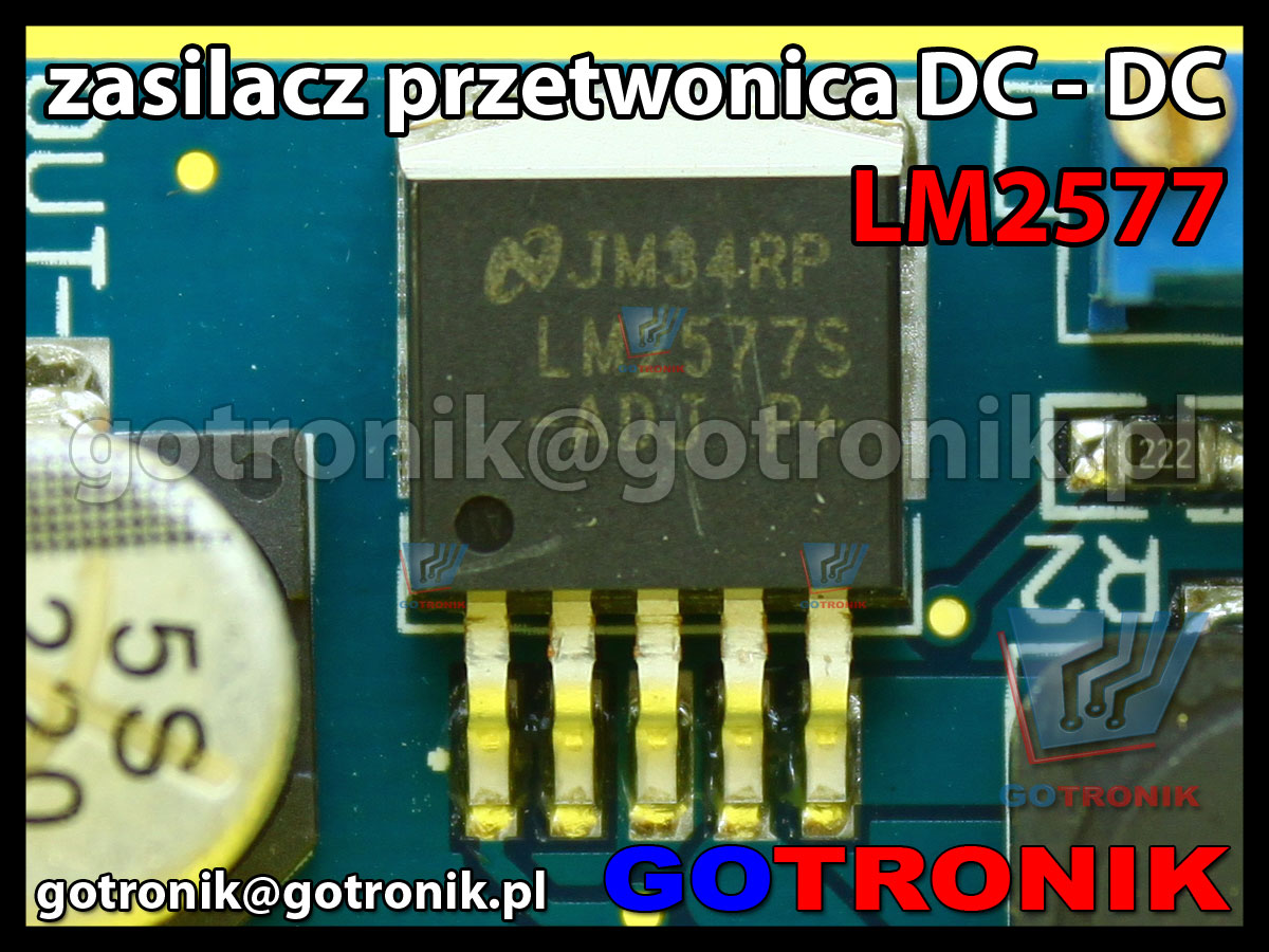 Mini zasilacz przetwornica DC DC LM2577 3-34V przetwornica STEP-UP podwyższająca napięcie
