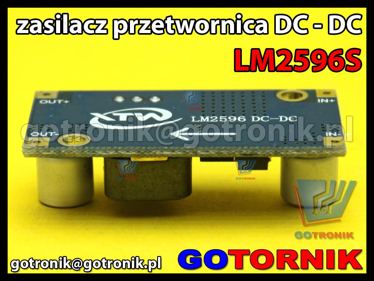 Mini zasilacz przetwornica DC DC LM2596S 1.5-35V 3A