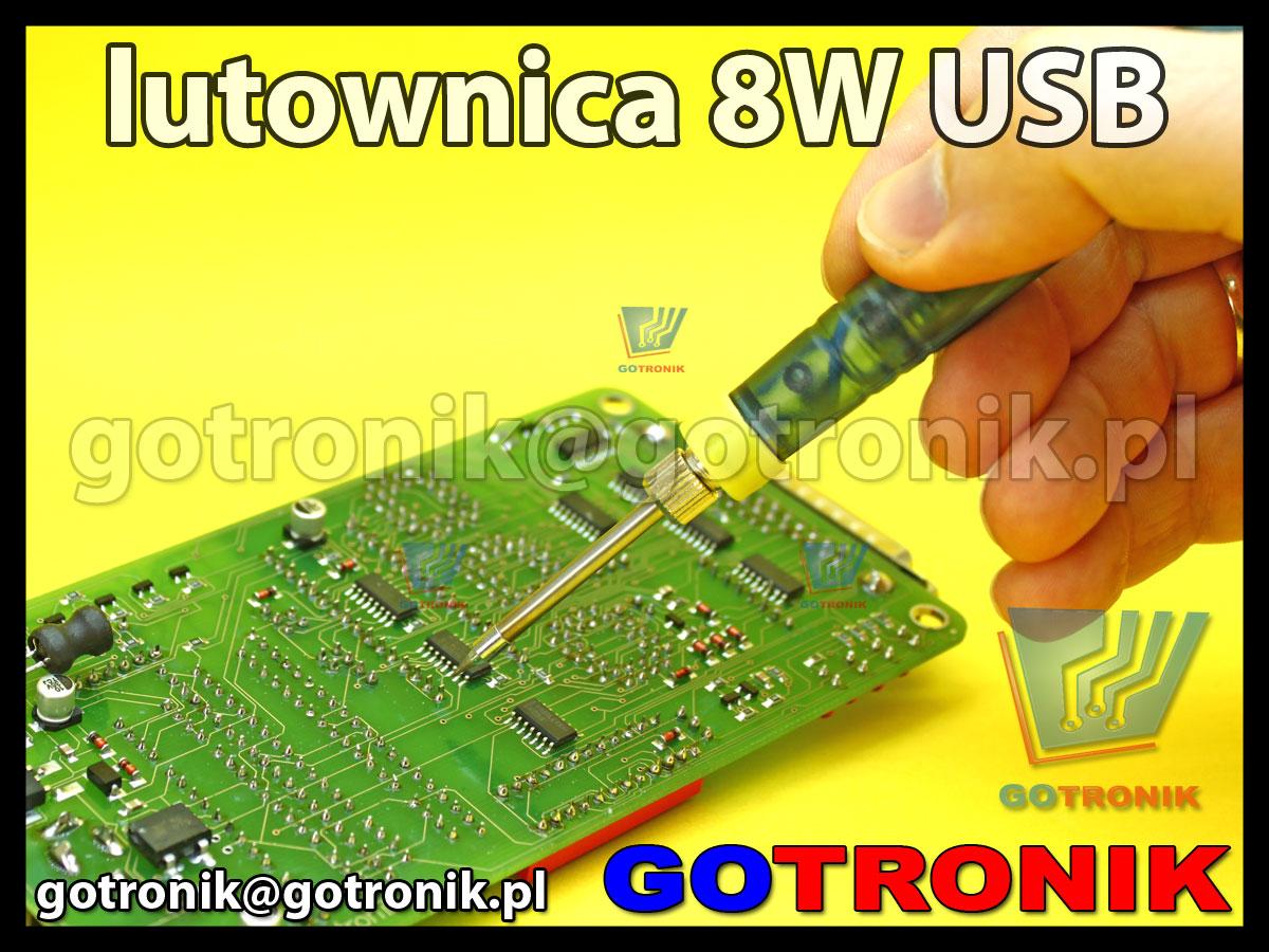 lutownica zasilana z USB moc 8W ZD-20U do precyzyjnych prac
