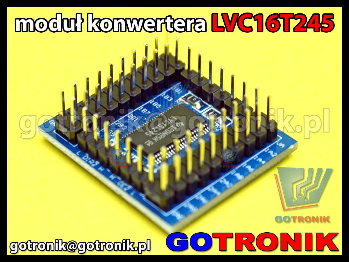 16-liniowy konwerter napięć i stanów logicznych LVC16T245 1,65-5,5V