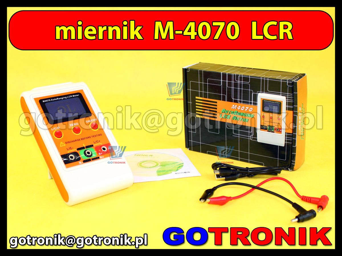 M-4070 M4070 miernik LCR mostek poiarowy pojemności indukcyjności rezystancji oporności