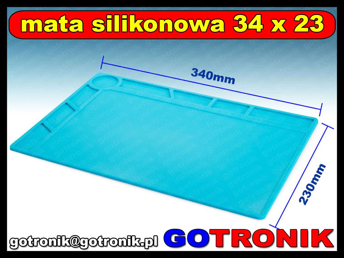 MAT-005 Silikonowa mata izolacyjna 34 x 23cm