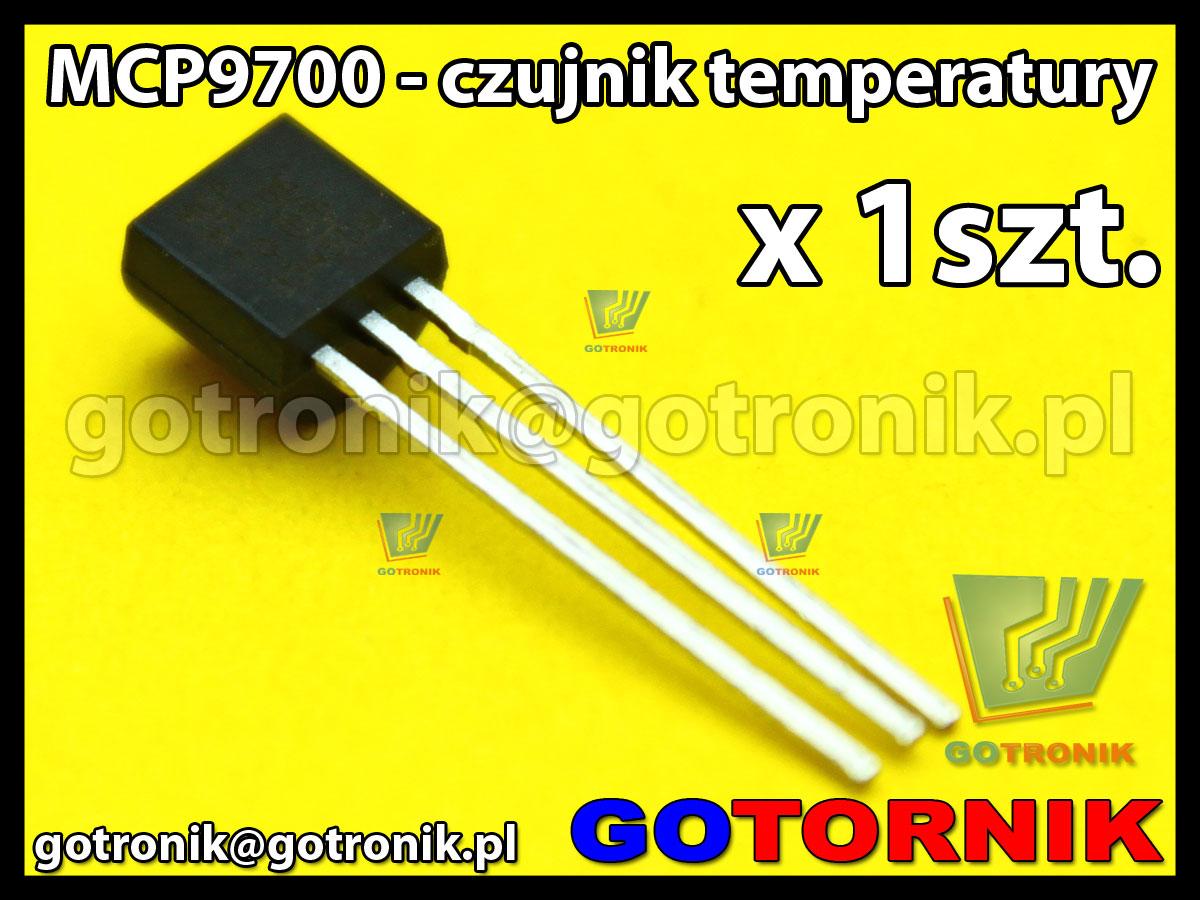 MCP9700 - czujnik temperatury TO92
