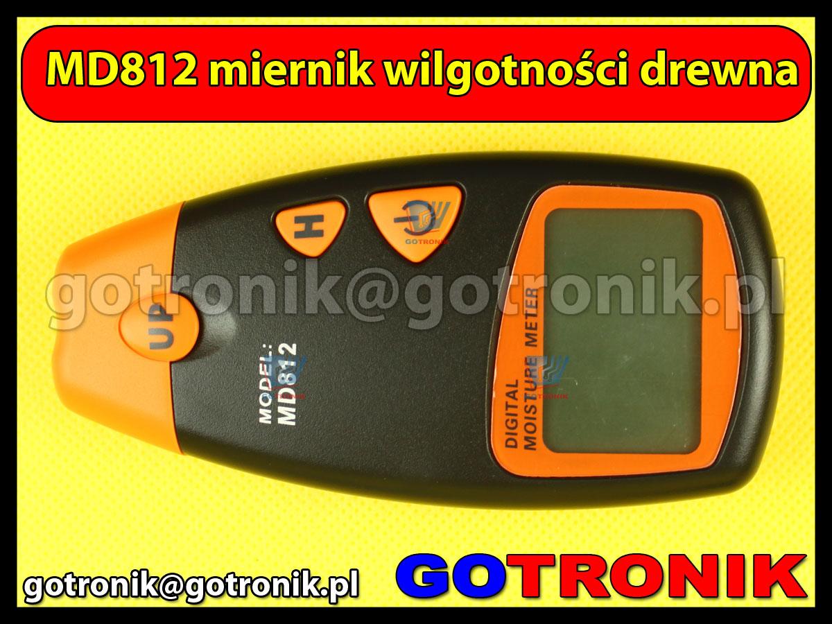 MD812 miernik wilgotności drewna wilgotnościomierz