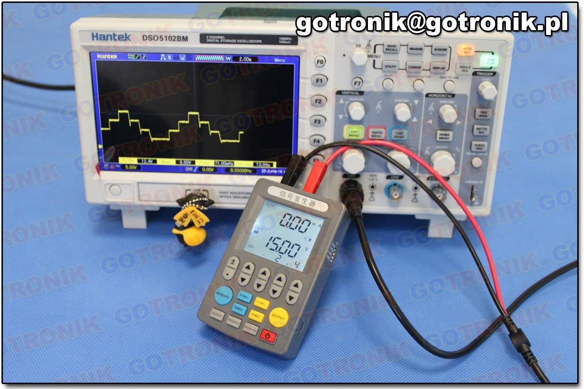 kalibrator pomiary