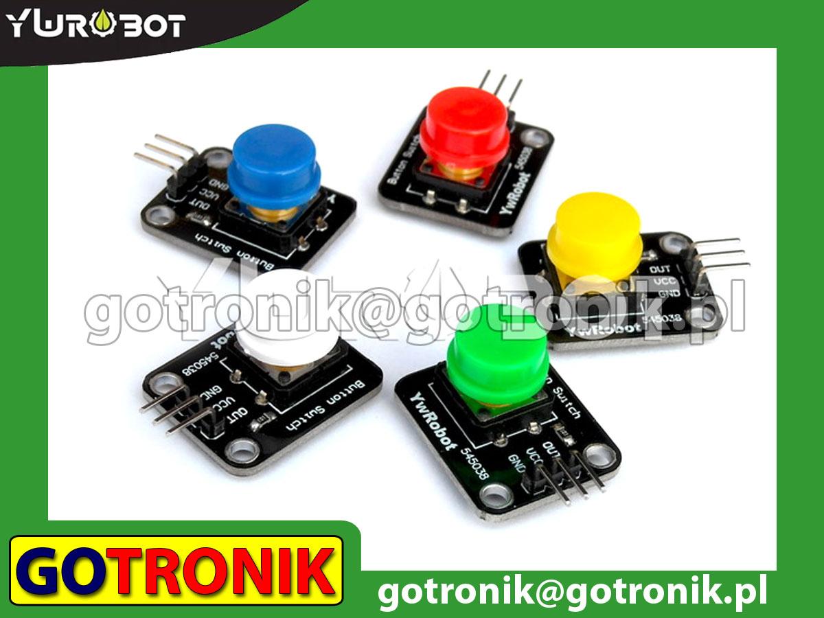 Moduł 5 przycisków tact-switch (zestaw)
