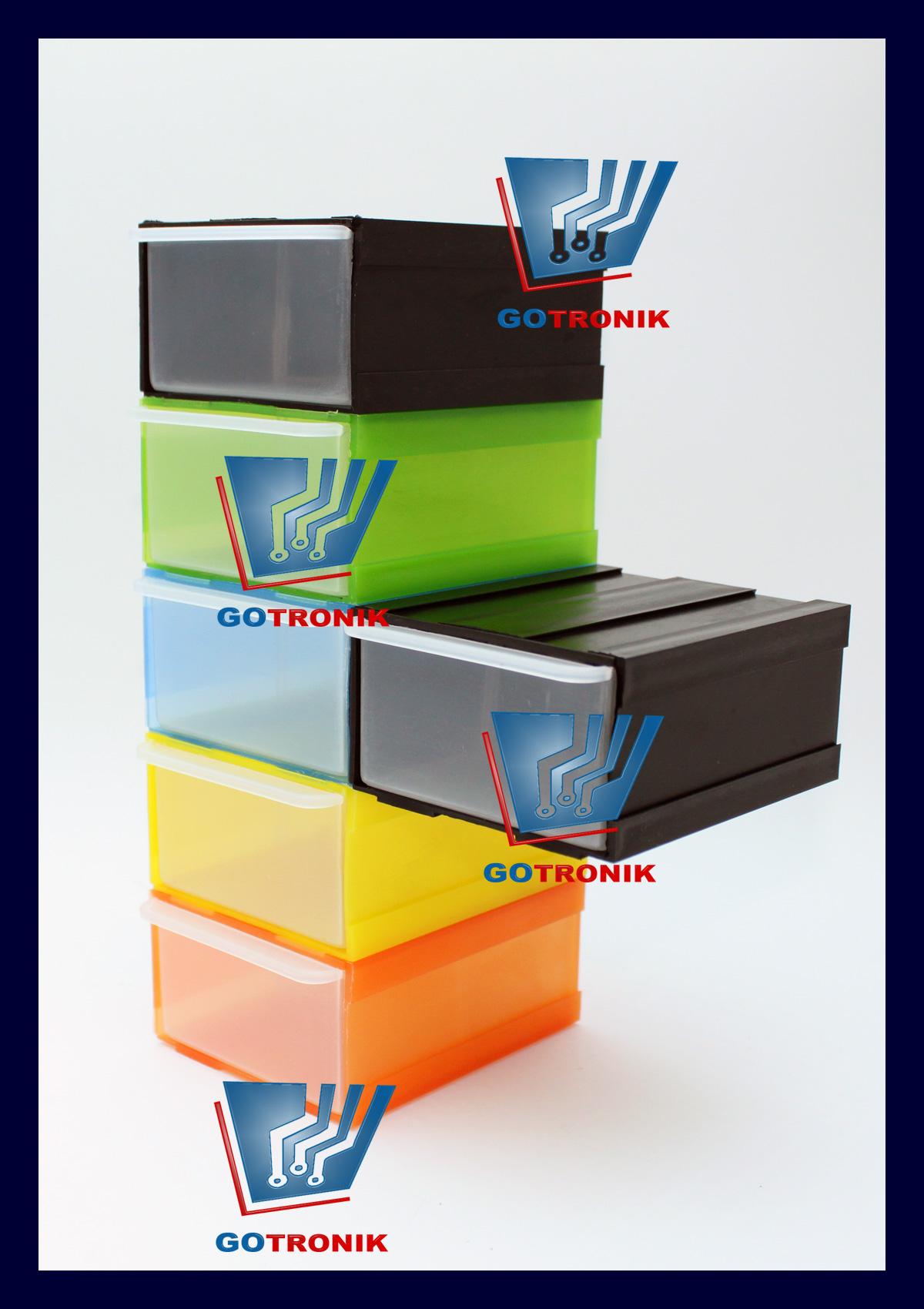 Moduły- specjalna konstrukcja szufladek pozwala na rozkładanie ich na podstawowe moduły i ponowne składanie w dowolny gabaryt.
