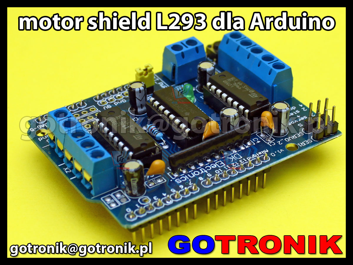 Arduino motor shield L293