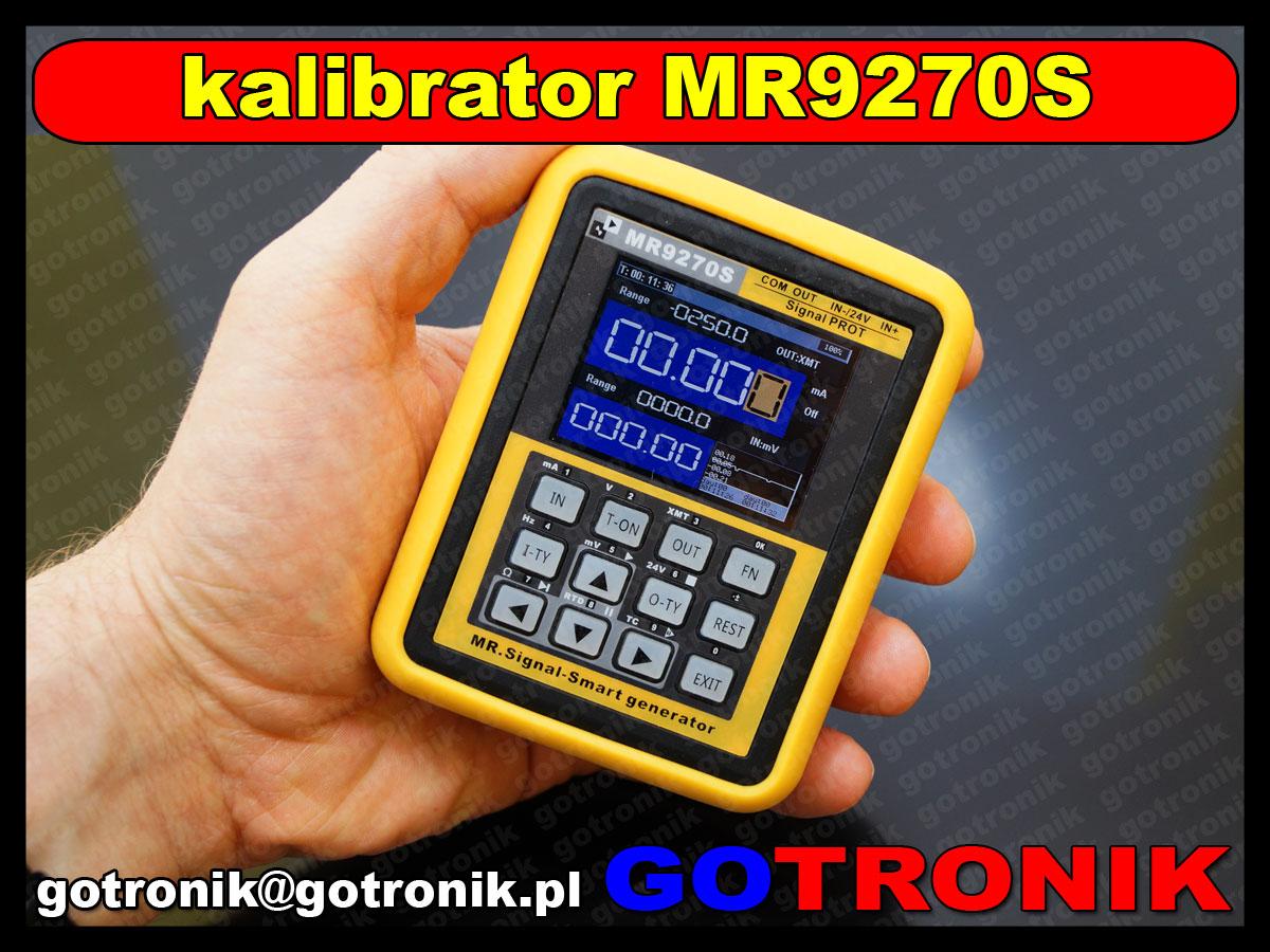 MR9270S kalibrator zadajnik pętli termopar pt100 pid