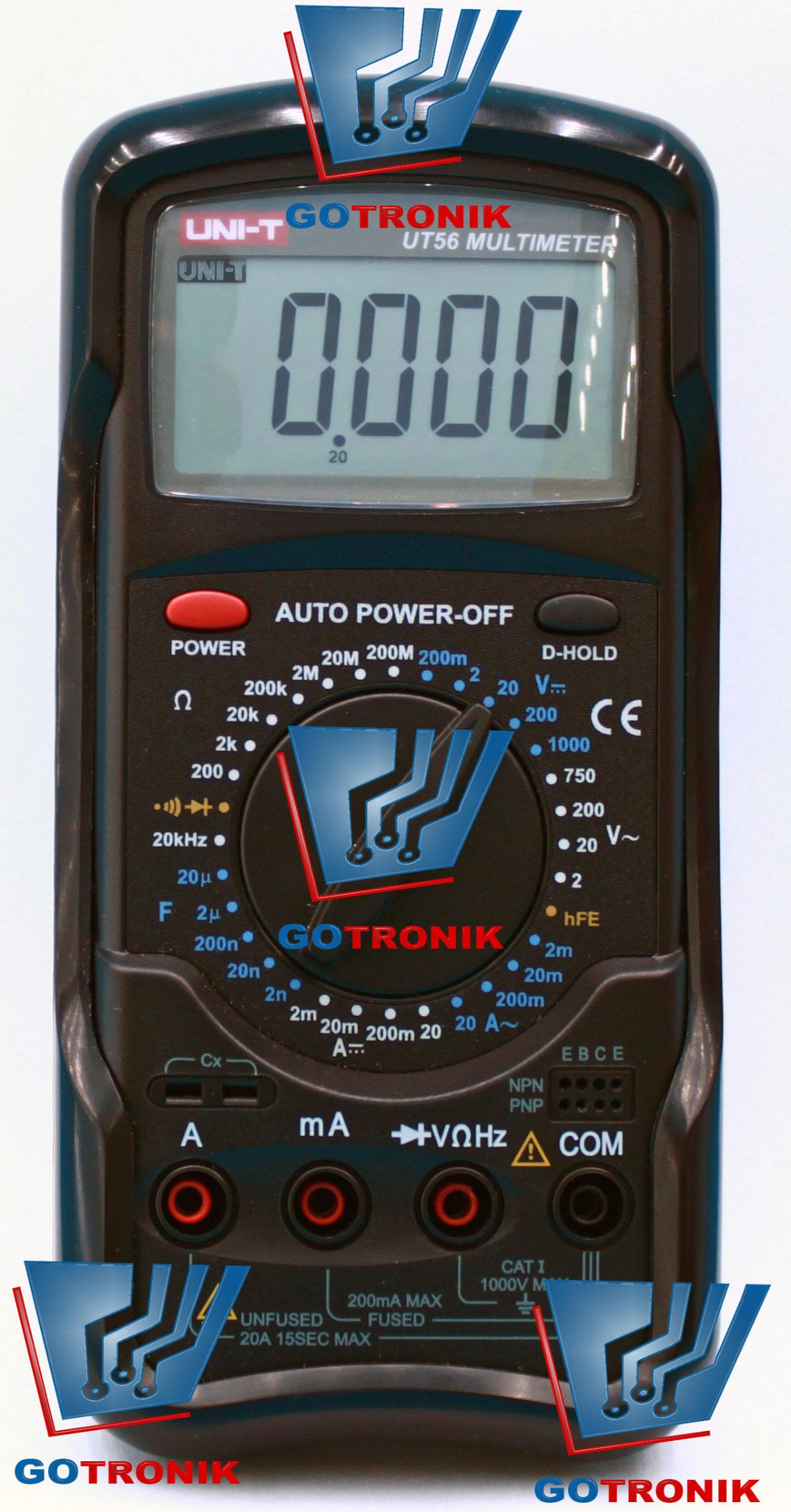 Miernik multimetr cyfrowy UT56 UT-56