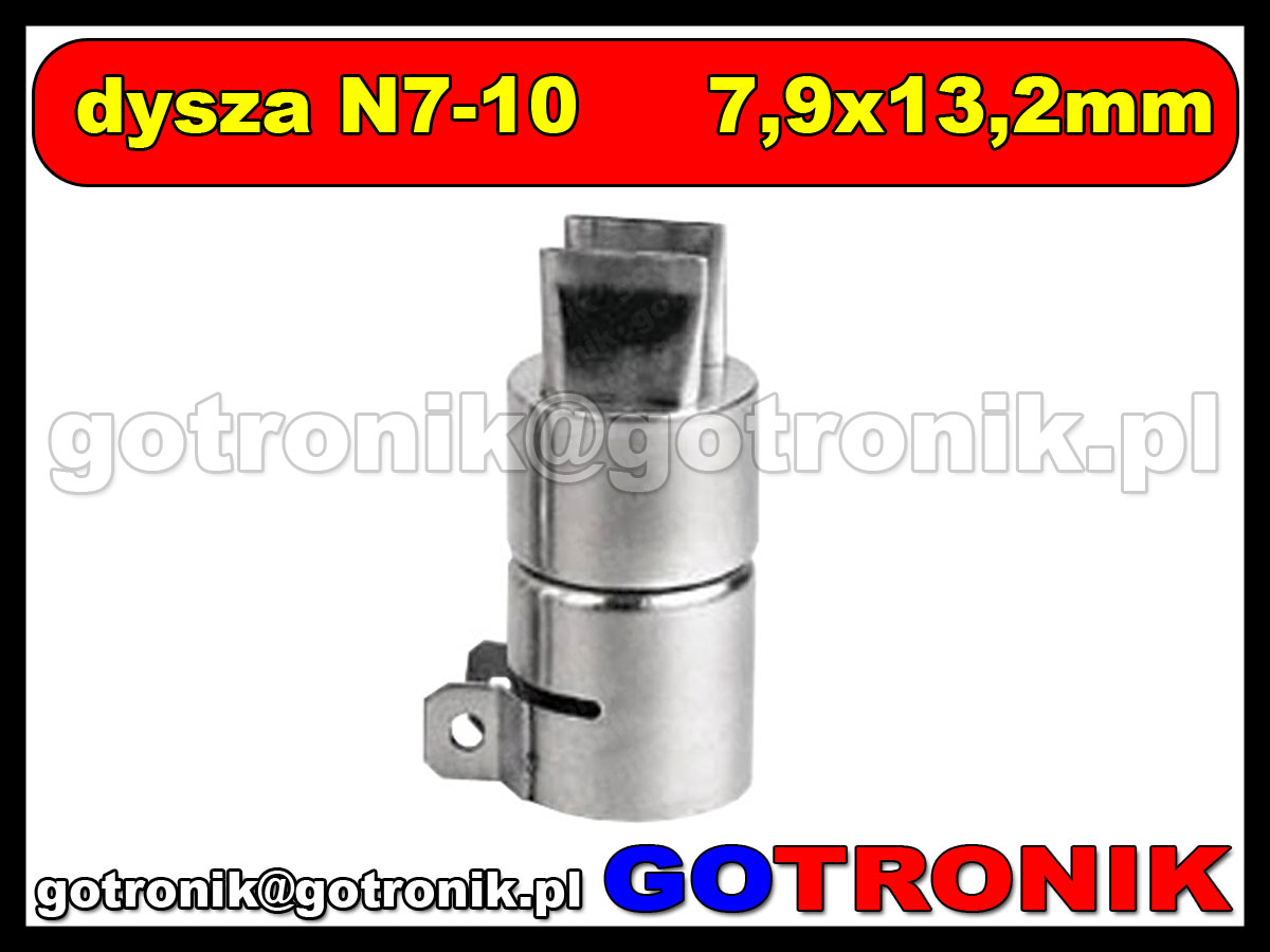 Dysza N7-10 7,2x16mm do stacji HOT-AIR ZD-912 ZD-939 79-3910
