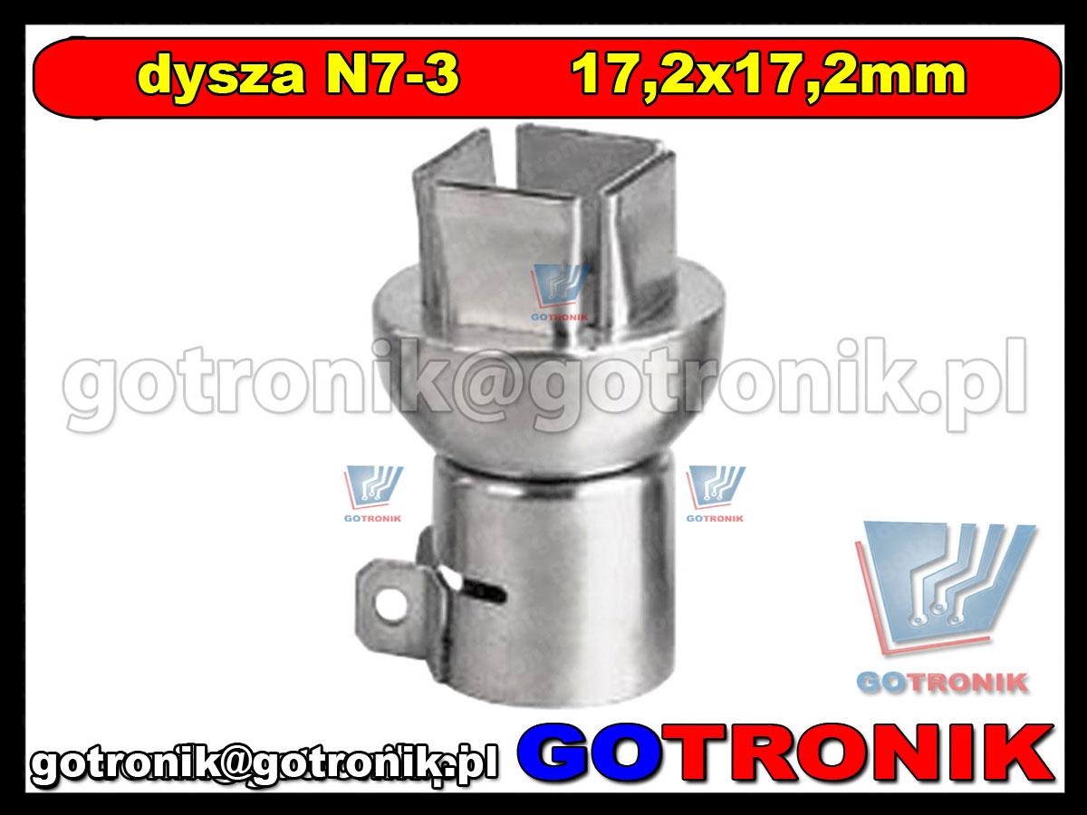 Dysza N7-3 15x15mm do stacji HOT-AIR ZD-912 ZD-939 79-3903