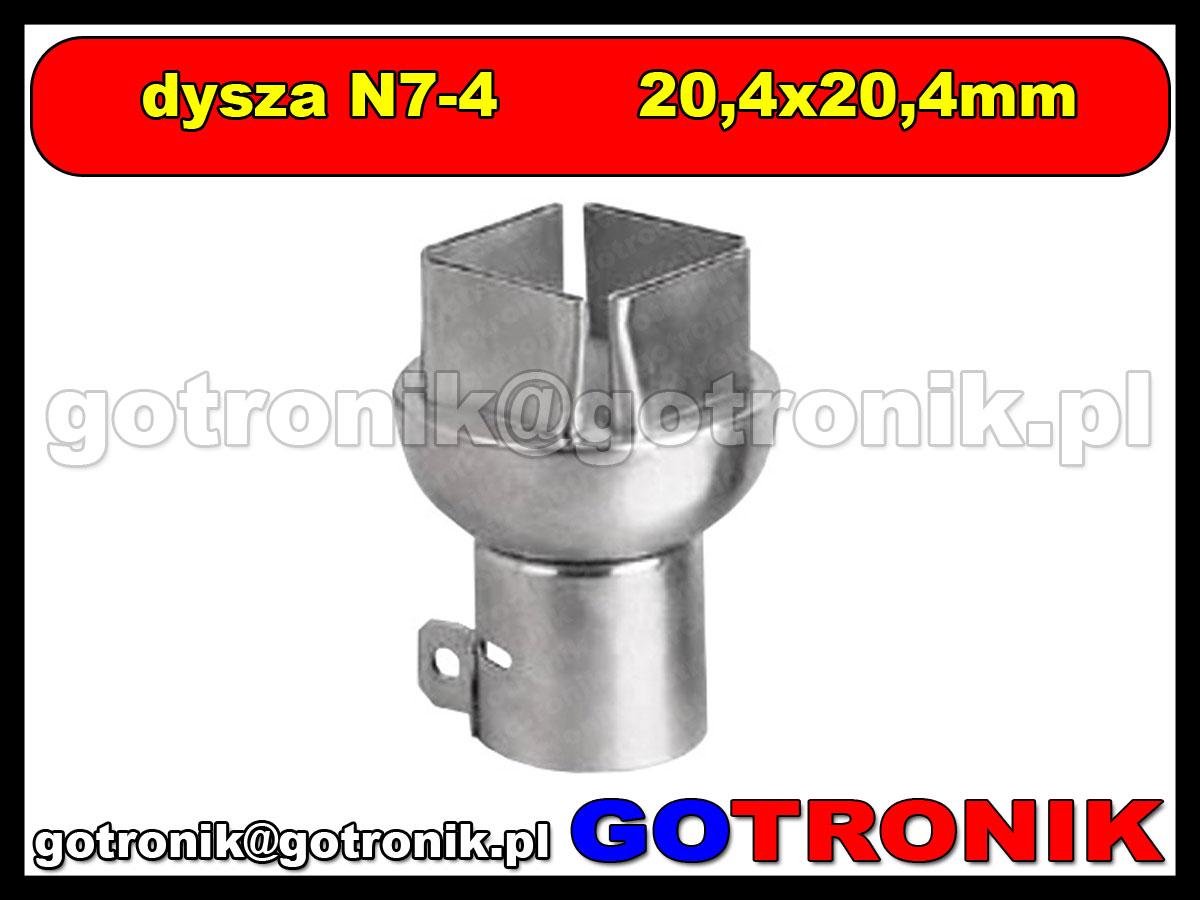 Dysza N7-4 19x19mm do stacji HOT-AIR ZD-912 ZD-939 79-3905