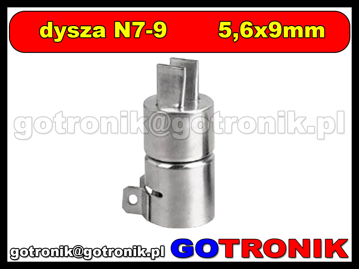 Dysza N7-9 5,7x15mm do stacji HOT-AIR ZD-912 ZD-939 79-3909