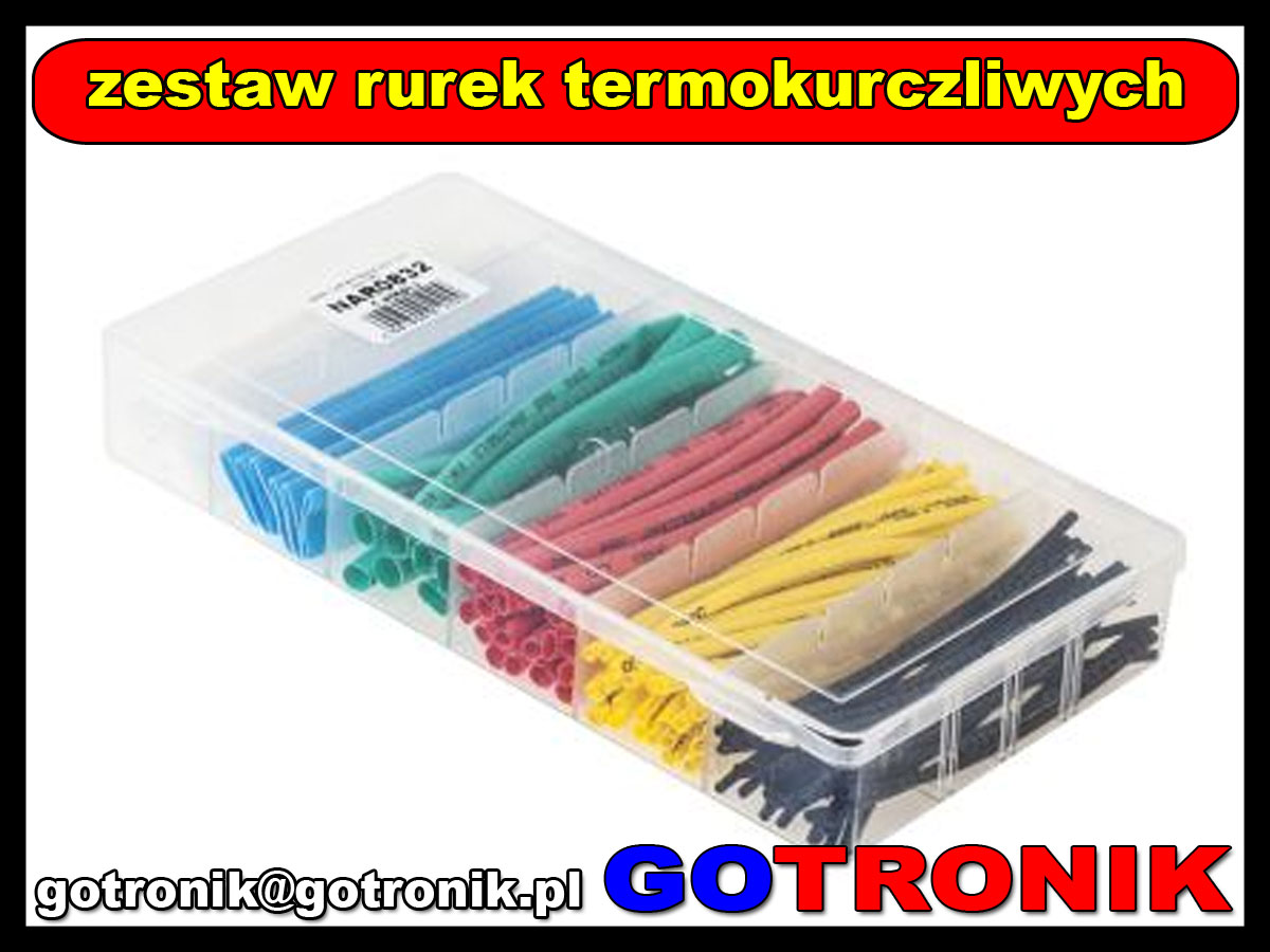 NAR0832 zestaw rurek termokurczliwych HST-100C 7857