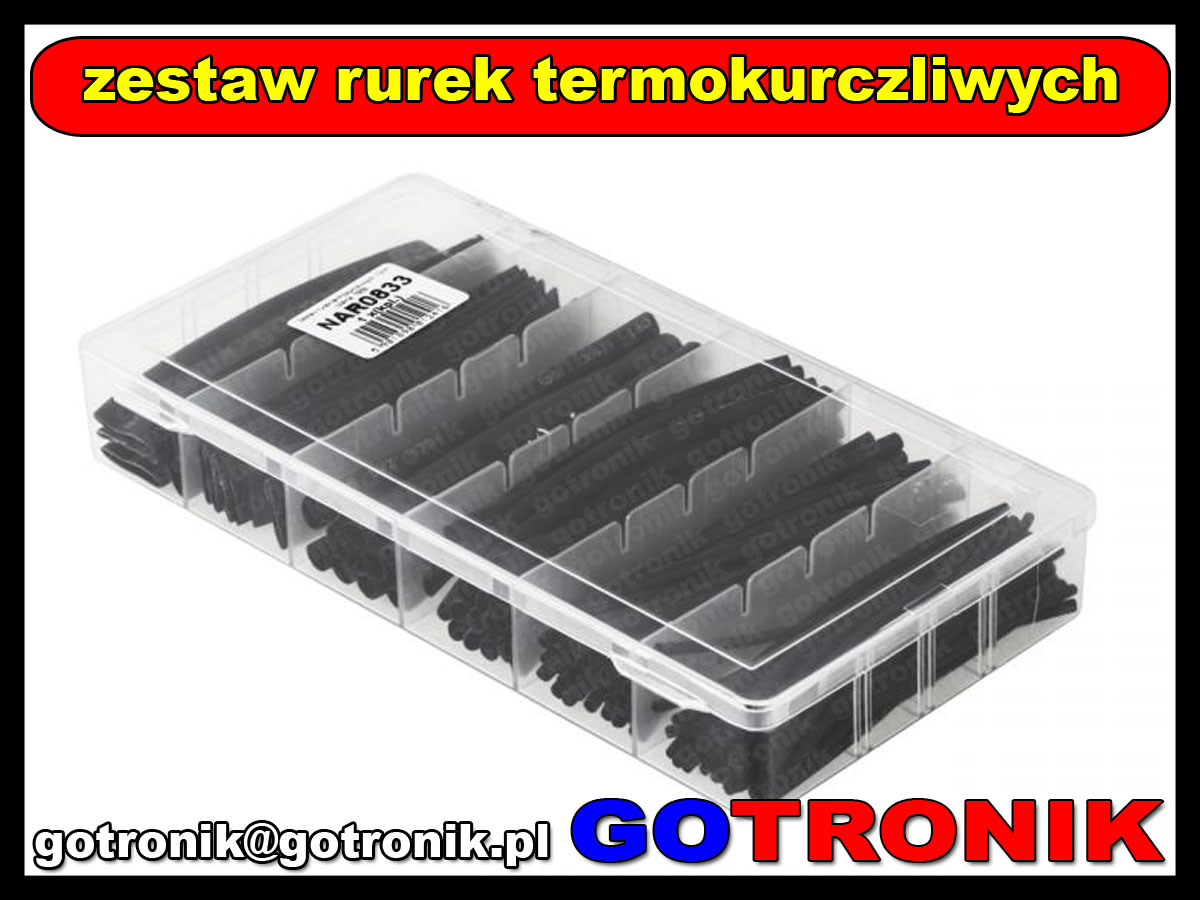 NAR0833 zestaw rurek termokurczliwych HST-100B 7858