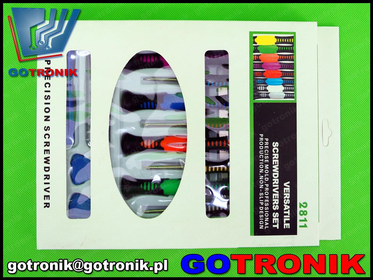 NAR-086 zestaw narzędzi serwisowych gsm wkrętaki, otwieraki, NAR086