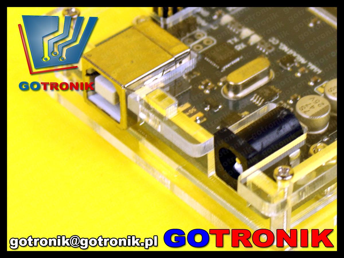 obudowa Arduino MEGA2560 plexi akrylowa transparentna