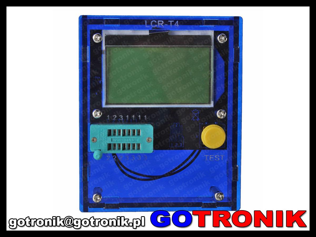 obudowa testera BTE-056 BTE056 elementów elektroniczych rlc lcr