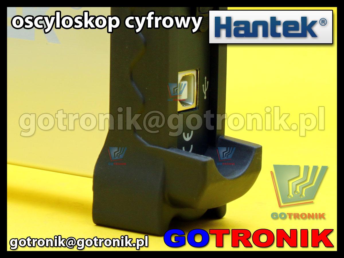 Oscyloskop cyfrowy Hantek6022BE USB PC