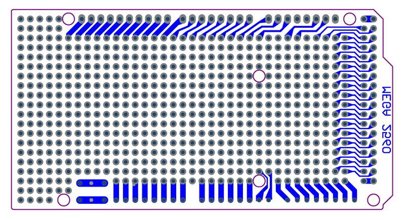Płytka uniwersalna do Arduino MEGA2560 R3 PA02