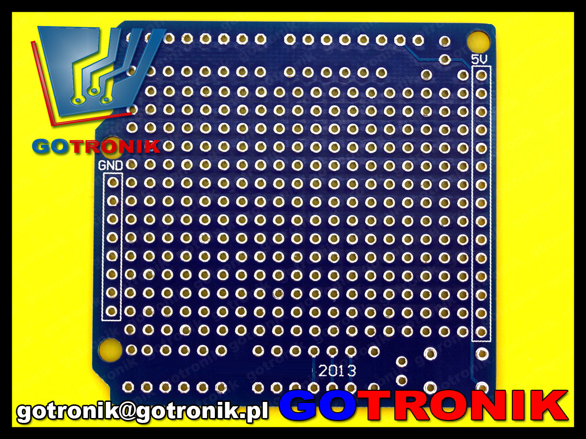 Uniwersalna płytka drukowana prototypowa do arduino shield pcb-097 pcb097