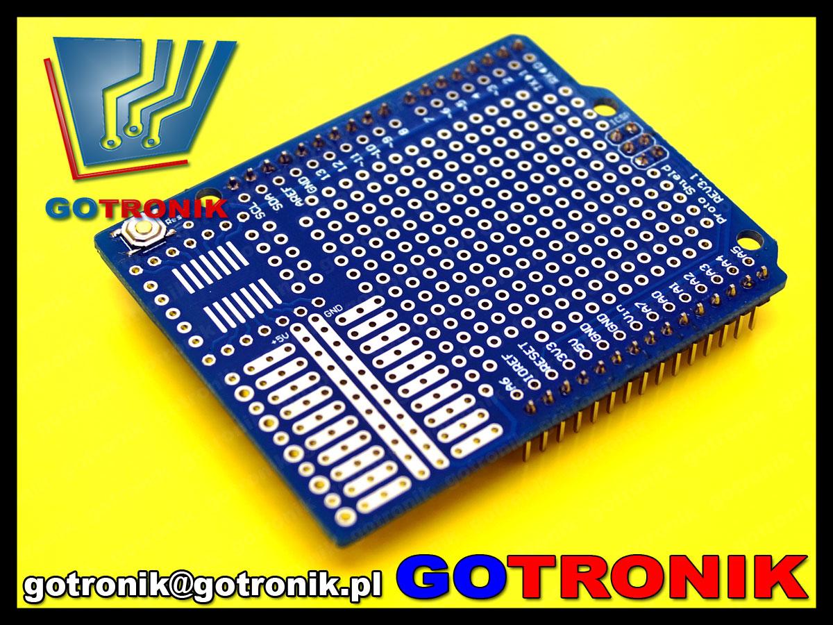 Uniwersalna płytka drukowana prototypowa do arduino shield pcb-099 pcb099