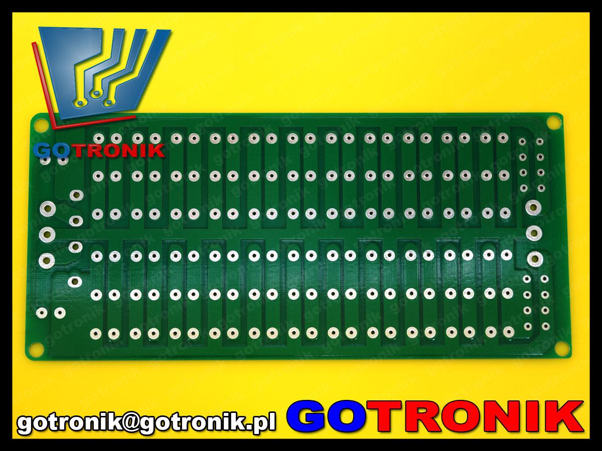 PCB-100 płytka drukowana zasilacz symetryczny niestabilizowany audio