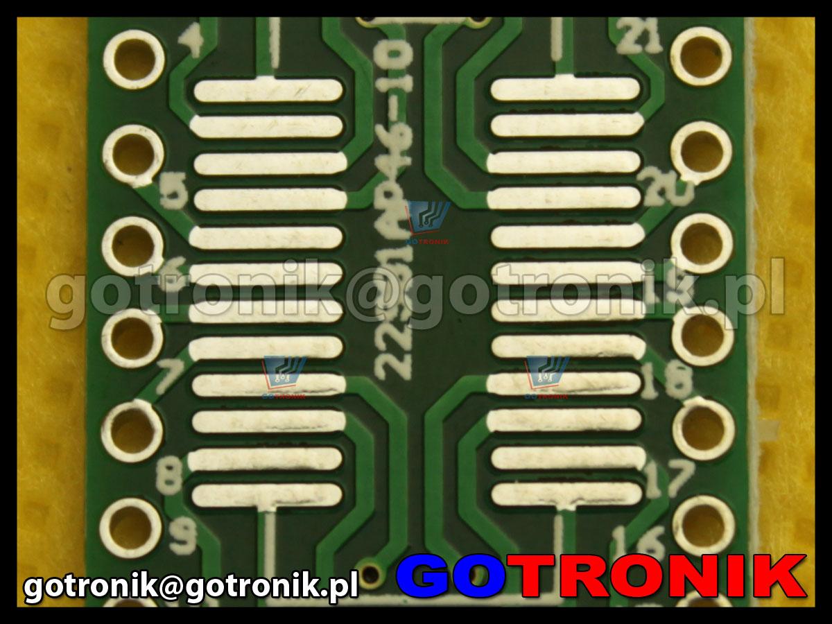 Płytka drukowana SOP24 raster 1,00mm