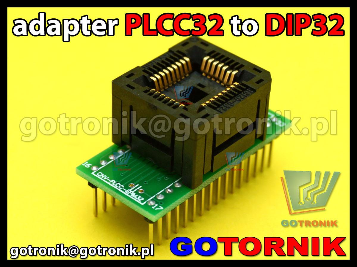Dip32 plcc32 своими руками